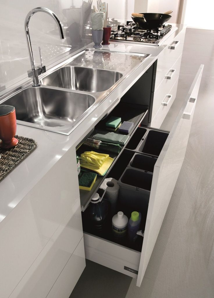 a new look at under-sink cabinets
