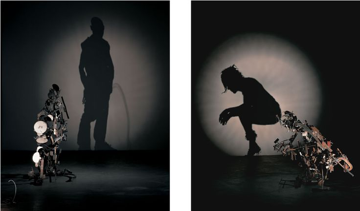HE/SHE (Diptych) (2004)  by Tim Noble & Sue Webster http://www.timnobleandsuewebster.com/he_she_2004.html