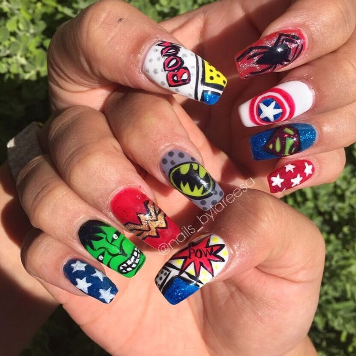 Unique The Nail Marvel Photos - Nail Art Ideas - morihati.com