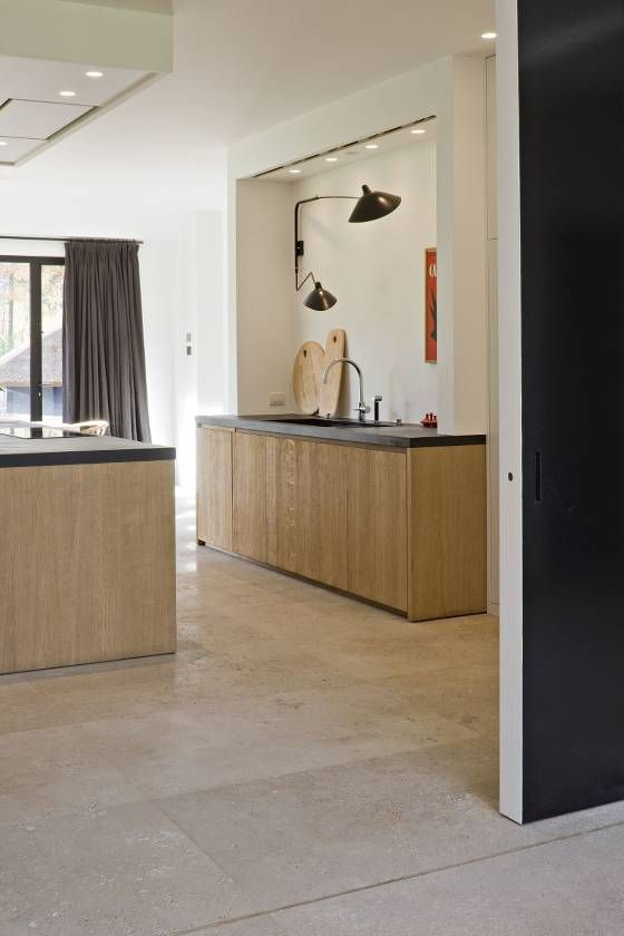 #Italiaanse Travertin - Opkamer travatin vloer - #Natuursteen - Italiaanse #Travertin ideeën | de-opkamer.nl