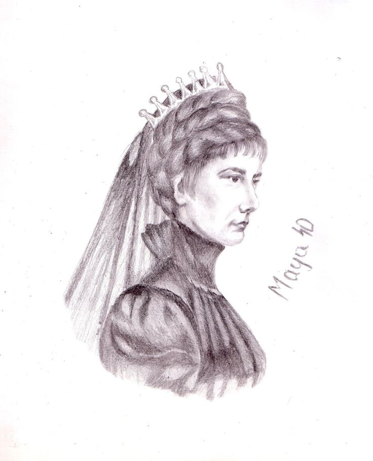 Portrait Empress Elisabeth by maya40.deviantart.com on @deviantART