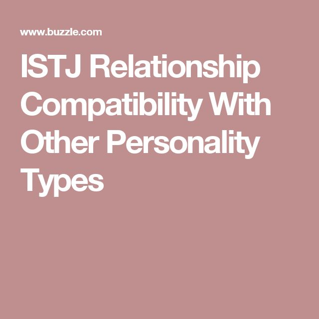 istj and istp relationship traits
