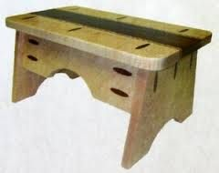 foot stool design plans - Google Search