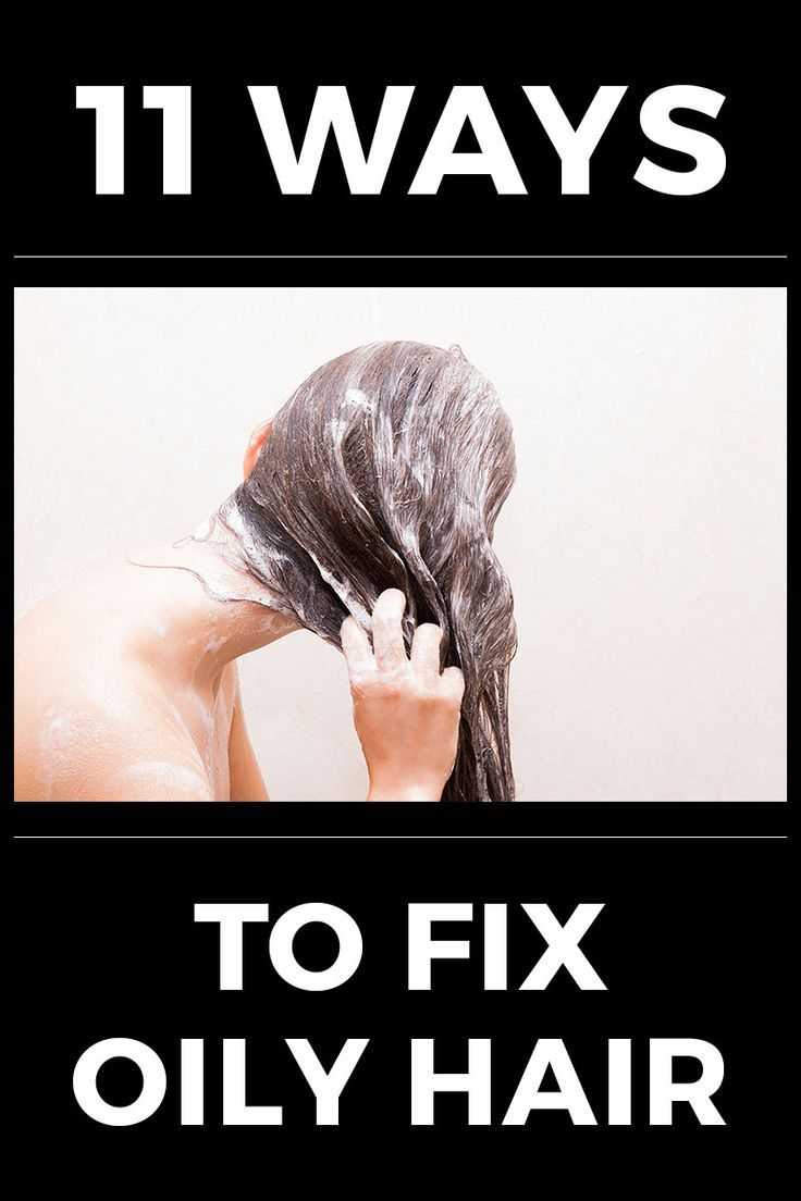oily hair how to get rid of it