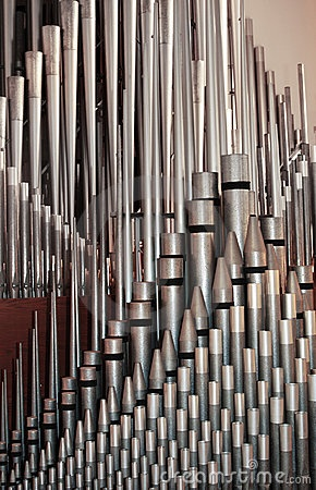Pipe organ chamber...amazing sound...not electronic!