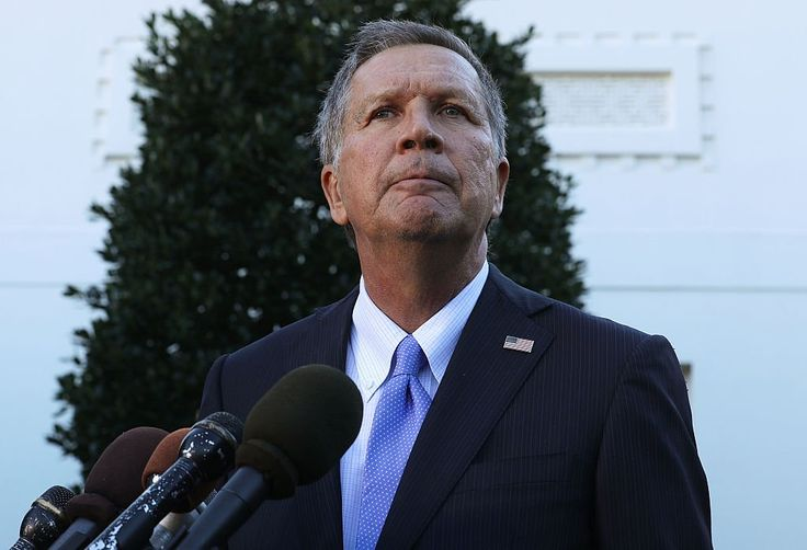 John Kasich John Kasich was the recipient of a tidal wave of Twitter hate Monday, as countless users blamed the Ohio governor for Monday's horrific attack on Ohio State University's campus.  Read more: http://dailycaller.com/2016/11/28/ohio-state-attack-twitter-explodes-on-john-kasich-for-opening-states-borders-to-refugees/#ixzz4RMIfLpJW
