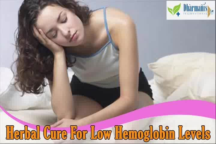 You can find more herbal cure for low hemoglobin levels at   http://www.dharmanis.com/natural-hemoglobin-enhancer-pills.htm  Dear friend, in this video we are going to discuss about the herbal cure for low hemoglobin levels. Herboglobin capsule is the best herbal cure for low hemoglobin levels in body.  Herbal Cure For Low Hemoglobin Levels