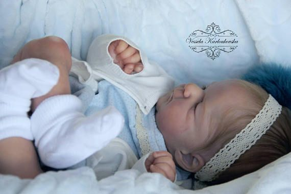 Custom Reborn Baby Doll Boy Or Girl Ellis Olga Auer Free Belly Plate With Order Reborn Babies Reborn Baby Dolls Baby Dolls