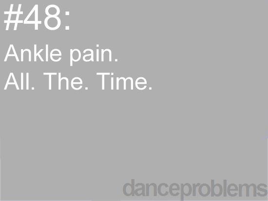 No wonder it hurts to run thank you dance