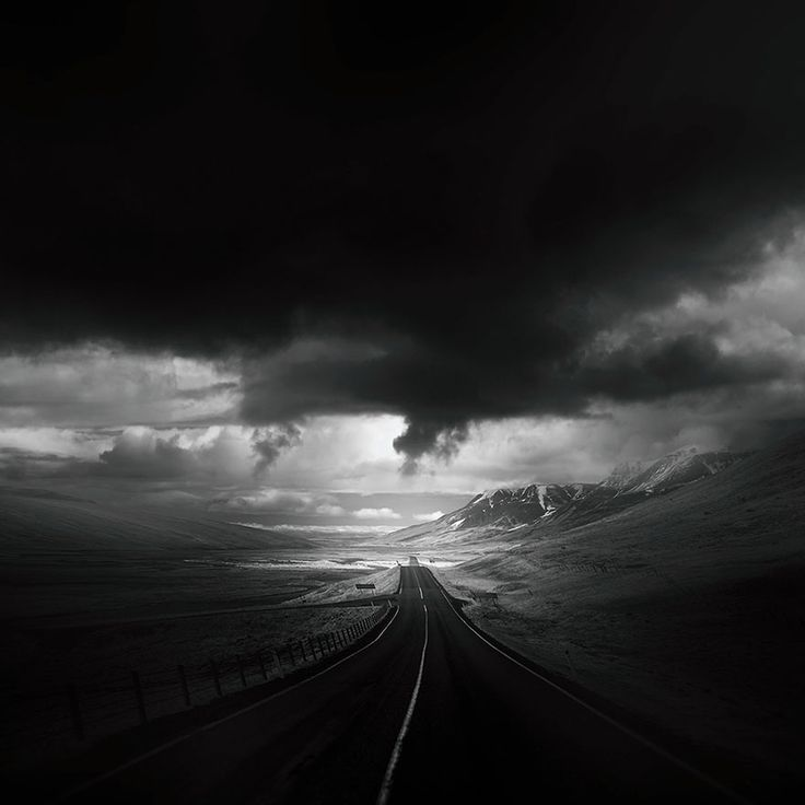 """Throughout his travels, Andy Lee has taken a lot of pictures of beautiful and forlorn roads around the world. Now, this creative director, filmmaker, painter, doodler and photographer (and we can probably also add """"renaissance man"""" to the list) has collected these photos in an amazing series called """"Roads"""" that will fill you with wanderlust."""