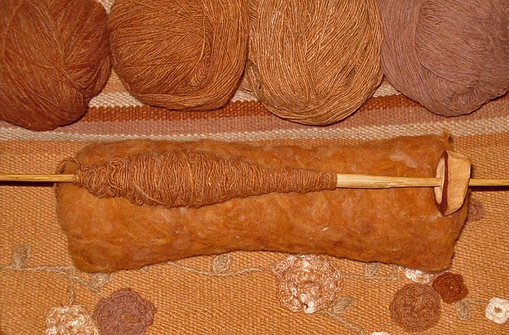 Morrope Handspun Organic Cotton Yarn Extremely Rare Color Grown Fiber  This grows in nature this way with no enhancement or conventional processing what so ever.  This yarn is spun by native artisans with a natural drop spindle, made from carved fallen wood & a carved dried  avocado pit.  http://www.ecobutterfly.com