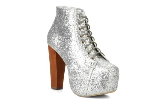 Jeffrey Campbell Lita Ankle boots 3/4 view