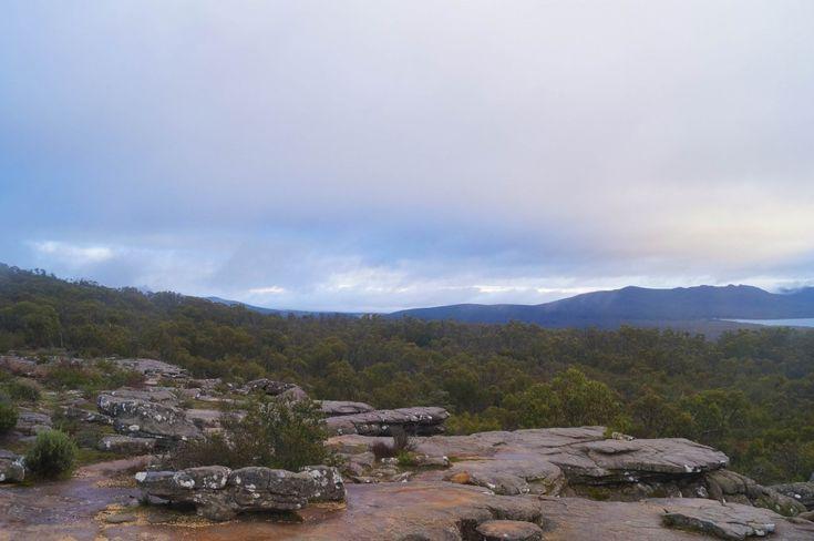 Sunrise in the Grampians, Australia