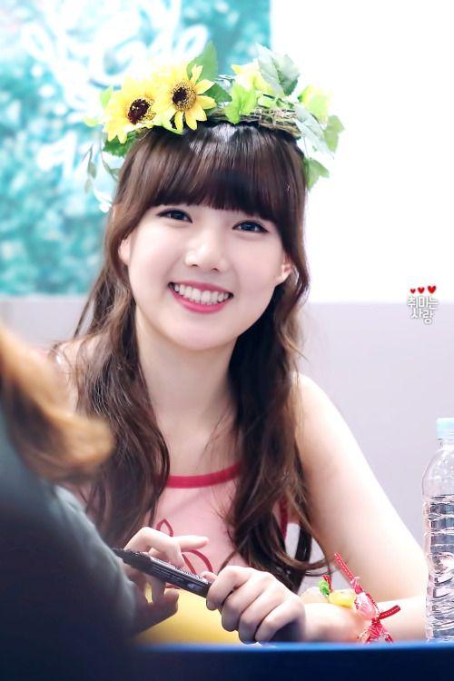 GFRIEND - Jung YeRin #정예린 #예린 'Flower Bud' era 150801 #여자친구 #오늘부터우리는