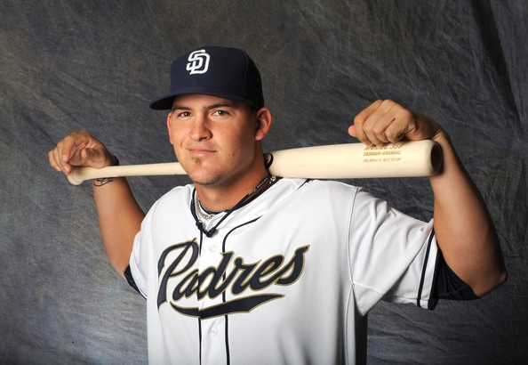 I must just have a thing for catchers... Yasmani Grandal, San Diego Padres... adorable.