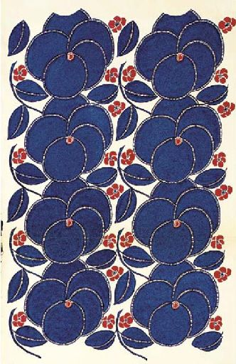 More Dufy-- my grandmother loved pansies-- love this pattern
