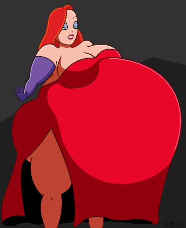 how to draw jessica rabbit face