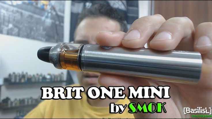 Brit One Mini Kit by Smok - BasilisL (Greek Reviews)