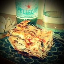 Lättlagad Vegetarisk Lasagne