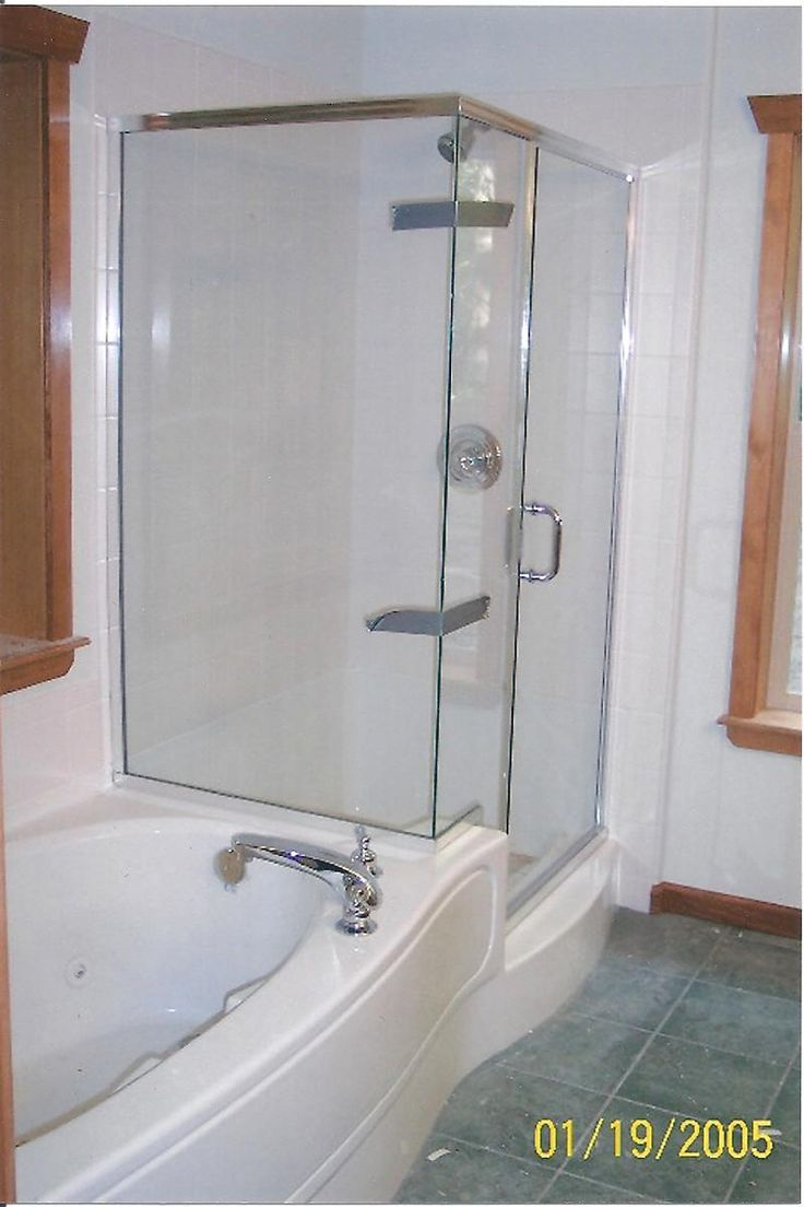 102 best images about bathroom ideas on pinterest - Bathtub shower combo for small bathroom ...