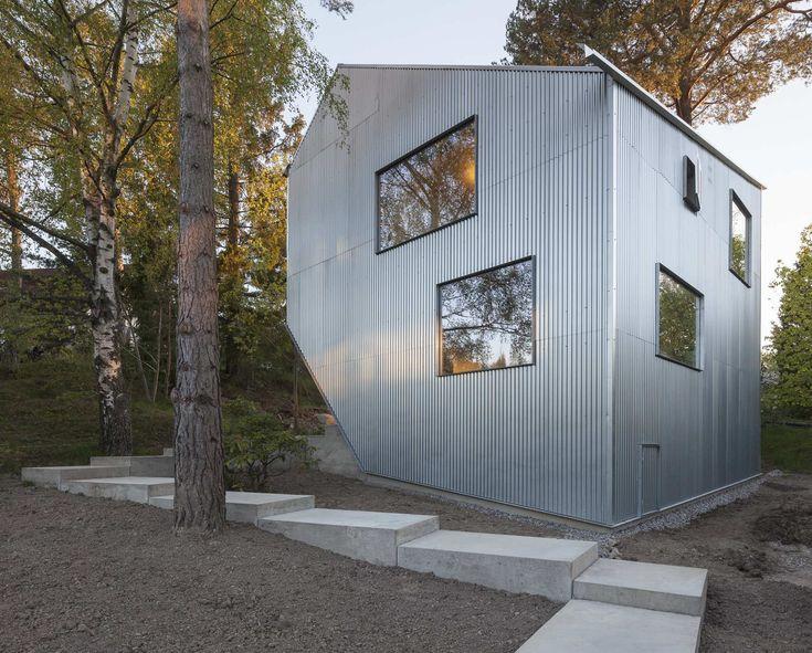 Findling für 170.000 Euro - Experimentelles Wohnhaus in Stockholm