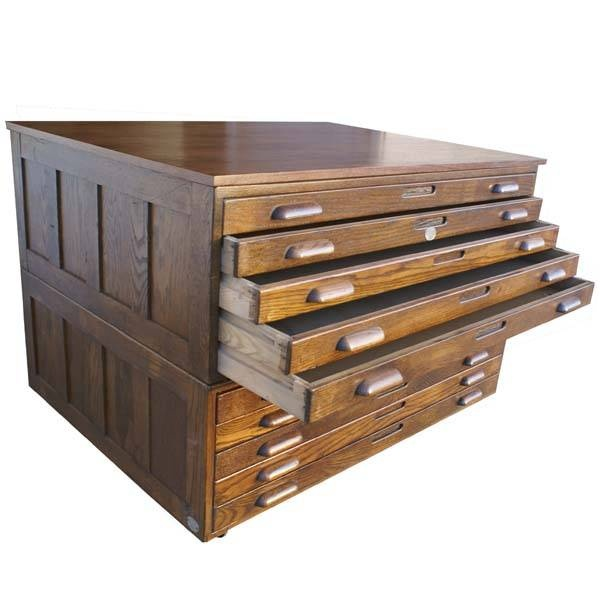 Hamilton Oak Flat File System from Metro Retro Furniture Blast from the  Past  10 Flat File Cabinets  lots of other flat file cabinets here. 75 best Wood images on Pinterest   Antique desk  Antique furniture