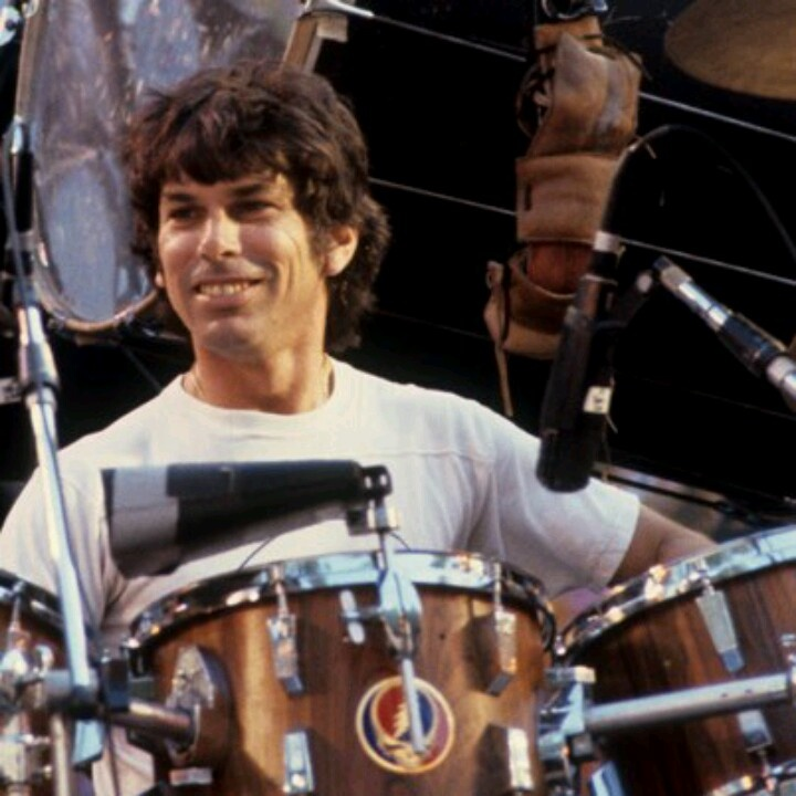 Mickey Hart back in the day!!