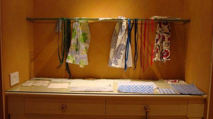 Our starting point were John Stefanidis' beautiful fabrics.