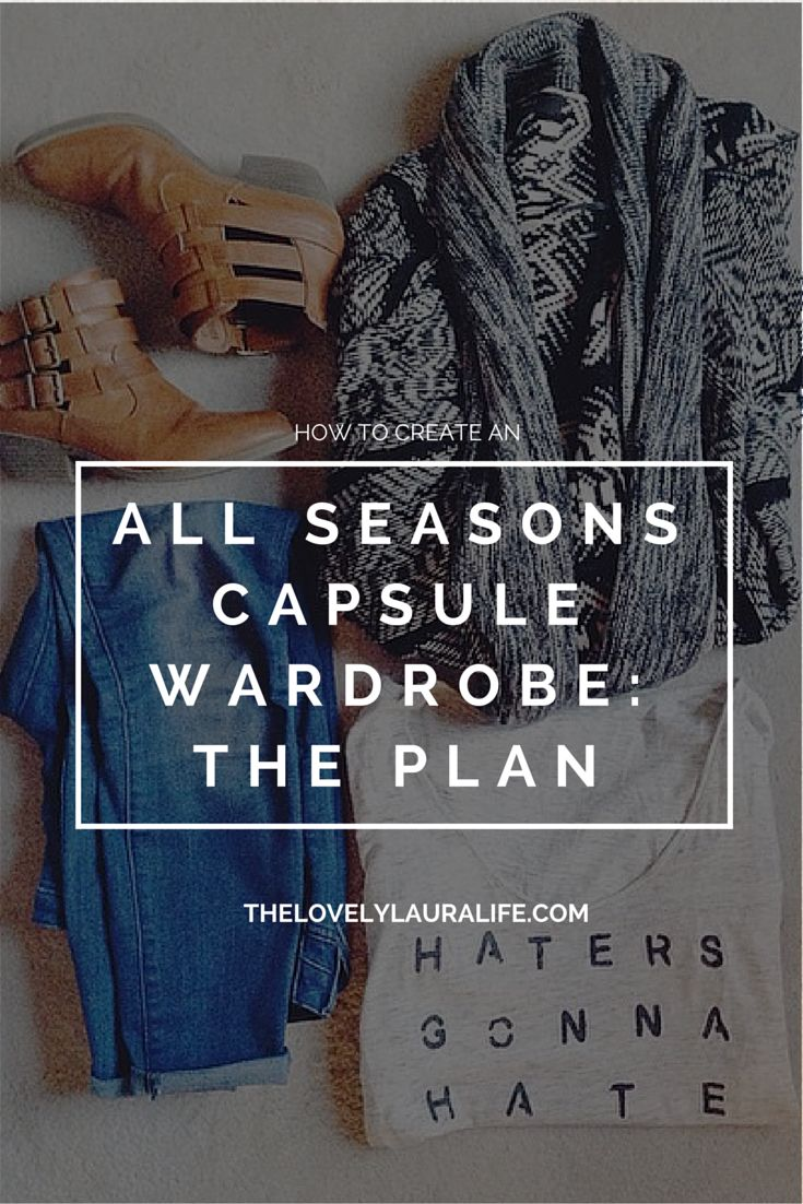 Creating an all seasons capsule wardrobe: The Plan