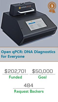 Top Performers on #Kickstarter:  Open qPCR: DNA Diagnostics for Everyone https://www.kickstarter.com/projects/chaibio/open-qpcr-dna-diagnostics-for-everyone?ref=discovery  #Kickstarter #TheKickstarter #Jollamobile #lastweek