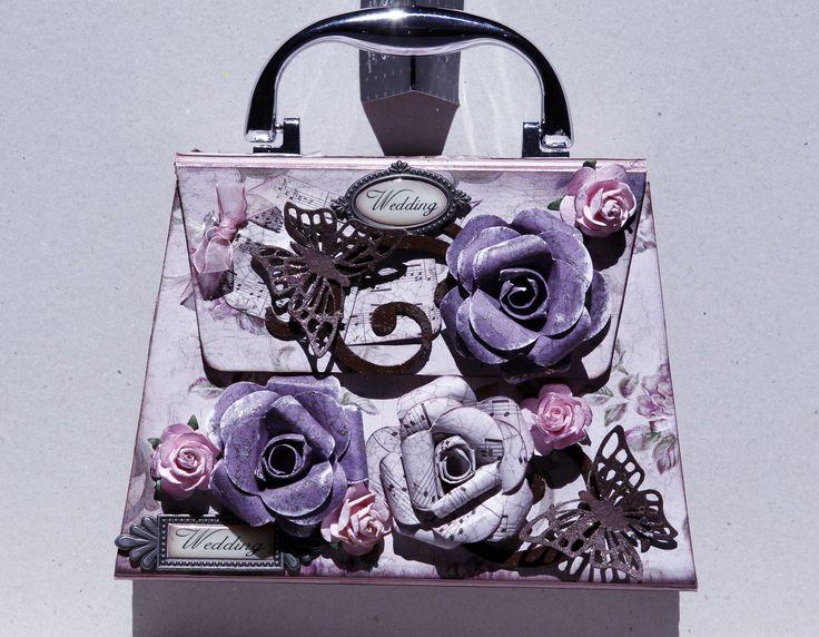 Hight tea handbag album