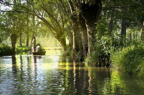 Marais Poitevin - Green Venice - França