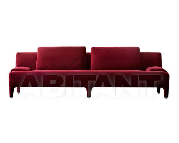 Диван DELTA бордовый IL Loft DEL12 DELTA , каталог мягкой мебели: фото, заказ, доставка - ABITANT , Москва