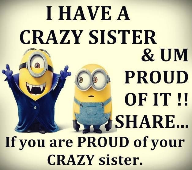 25+ Best Ideas About Crazy Sister On Pinterest
