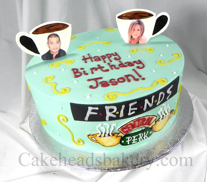 Friends Tv Show Cake Decorations