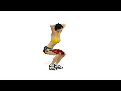 엉덩이운동: 스쿼트 - YouTube
