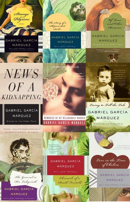 Gabriel Garcia Marquez - I want to win on the Kickstarter: START HERE from BOOK RIOT! http://www.kickstarter.com/projects/bookriot/start-here-read-your-way-into-25-amazing-authors