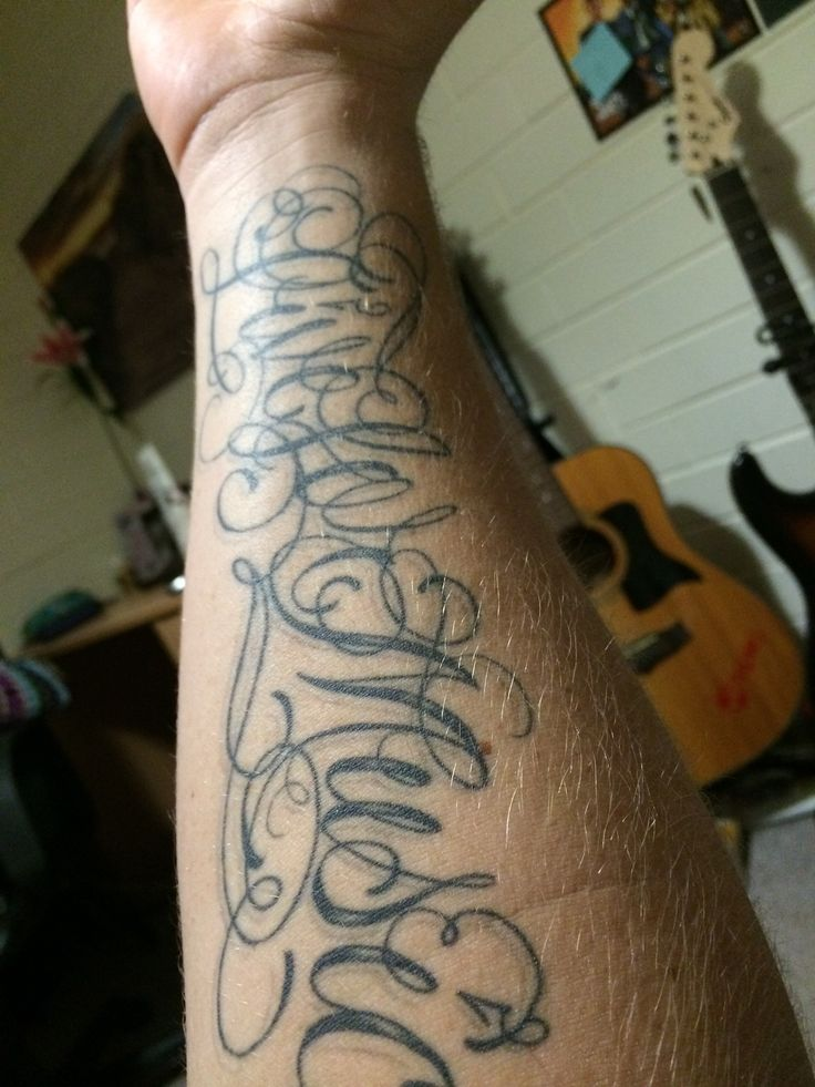 Live for music tattoo