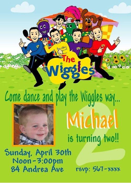 The Wiggles Fun Birthday Invite