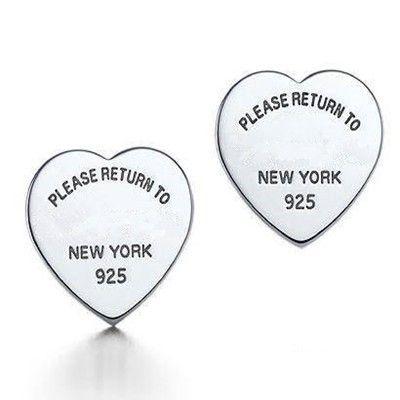 Tf marchio di gioielli di lusso 925 orecchini in argento 925 sterling silver monili di modo di alta qualità orecchini con logo in         Siamo un grossista della fabbrica, se volete sacco di commercio all'ingrosso, si prega di consultare cda Orecchini della vite prigioniera su AliExpress.com | Gruppo Alibaba