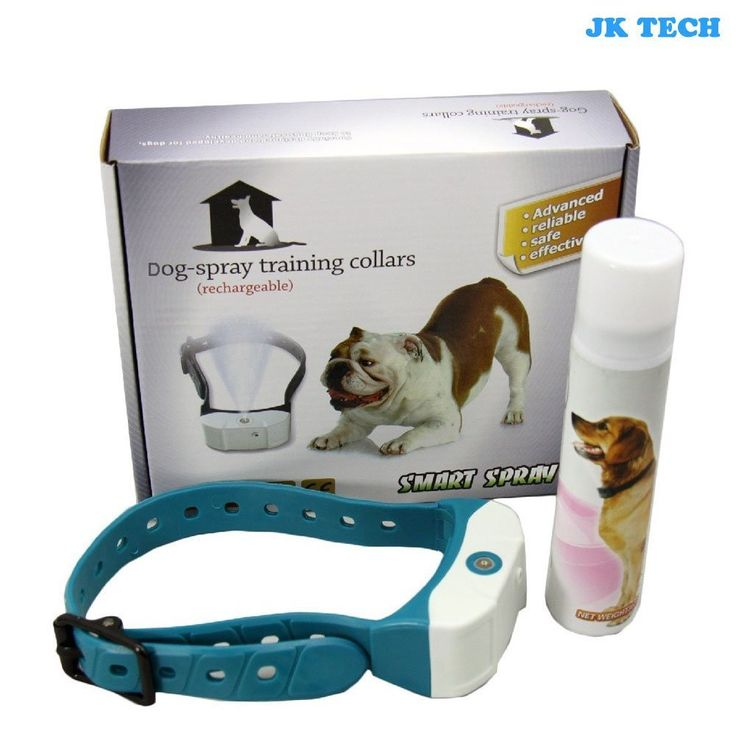 JK TECH Rechargeable No Bark Spray Dog Training Collar Pet Citronella Anti Bark Collar Training Tool Trainer for Small Medium Large Dogs * Amazing product just a click away  : Collars for dogs