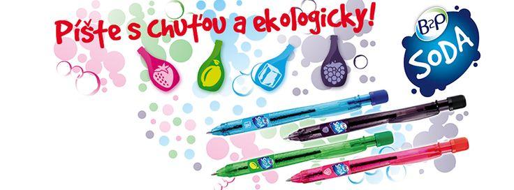 Píšte s chuťou a ekologicky! :) #b2p #soda #protect #environment