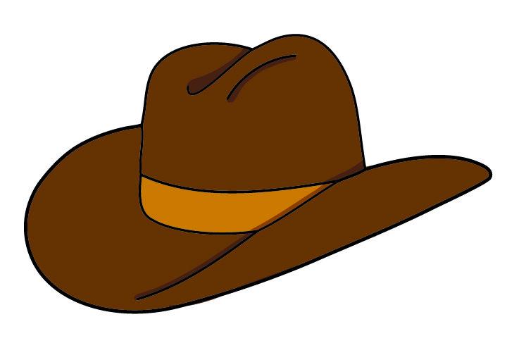 Cowboy Hat FREE clip art