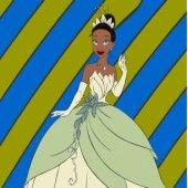 Раскраска Принцесса Тиана