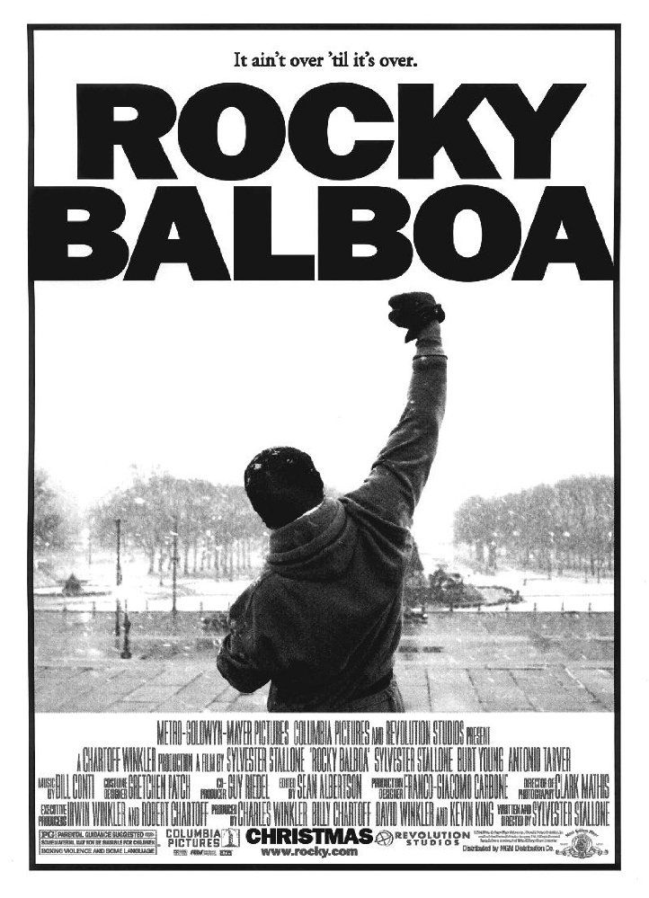 Directed by Sylvester Stallone.  With Sylvester Stallone, Antonio Tarver, Milo Ventimiglia, Burt Young. Thirty years after the ring of the first bell, Rocky Balboa comes out of retirement and dons his gloves for his final fight; against the reigning heavyweight champ Mason 'The Line' Dixon.