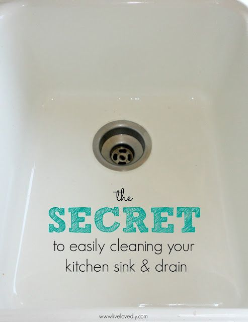 what to do when your kitchen sink is clogged the secret to easily cleaning your kitchen sink and drain 2271