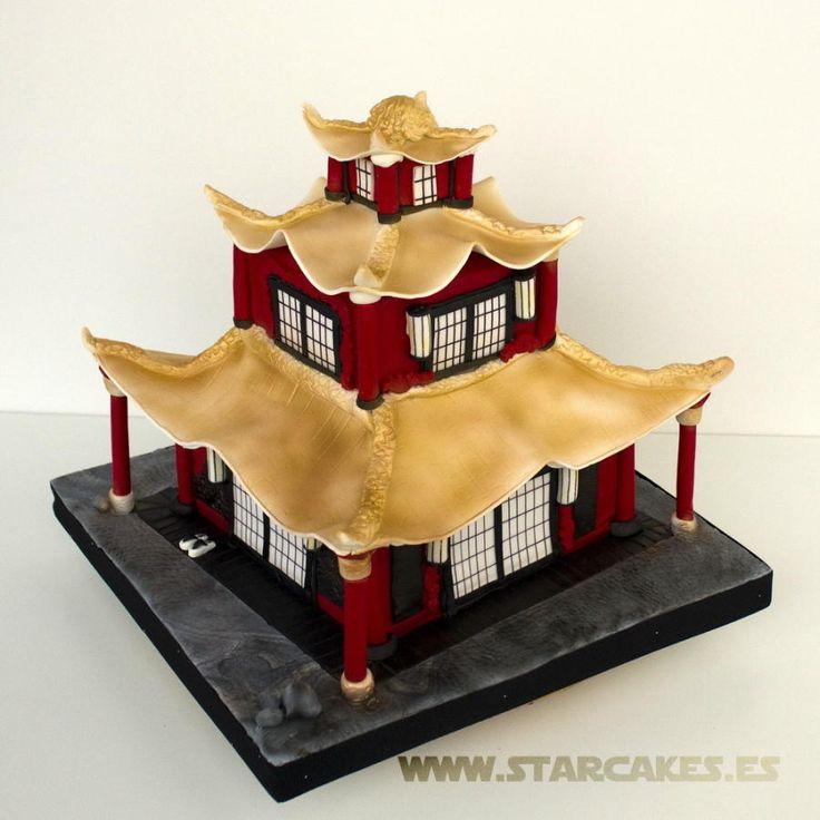 Pagoda Cake