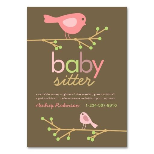 10 best Babysitting Flyer Template images on Pinterest - babysitting flyer template