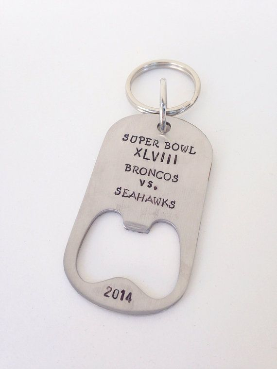 Super Bowl Keychain just wish the teams were different =/