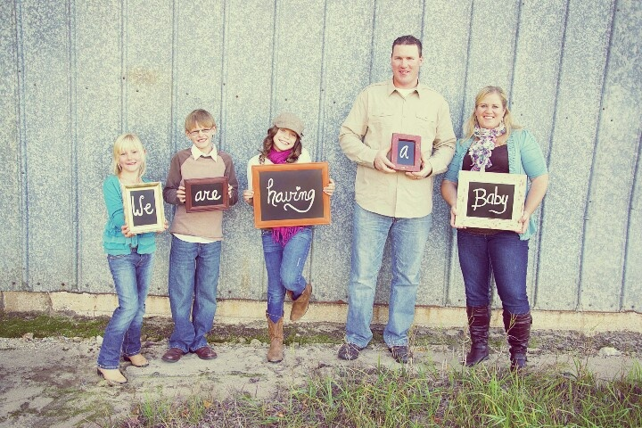 for baby 3 pregnancy announcement